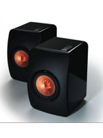 Kef Coppia diffusori Hi Fi Kef LS 50 Black Ultimate Mini Monitor da scaffale