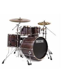 volume ID522 - I Drum Set in Dark Ash