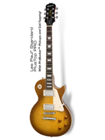 Epiphone Les Paul Plustop Pro Honey Burst