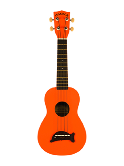 Makala Ukulele Soprano Orange Gloss