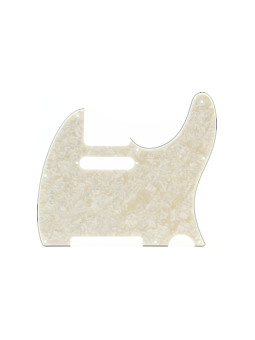 Fender Pickguard Teleacaster Aged White Moto