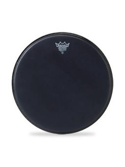 Remo BA-0816-ES - Ambassador Black Suede 16