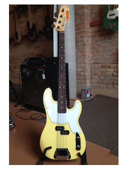 Fender MIKE DIRNT PRECISION BASS VINTAGE WHITE