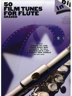 Volonte 50 FILM TUNES FOR FLUTE