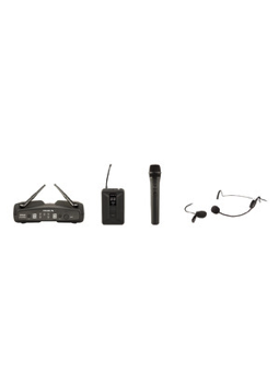Proel WM600D Kit Dual Channel Wireless Microphone System