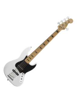 Squier Vintage Modified V jazz Bass olympic white