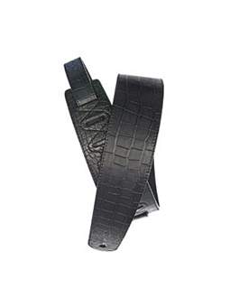 Planet Waves Leather Guitar Strap  Aligator