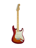 Fender American Elite Stratocaster Mn Aged Cherry Sunburst