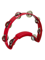Rhythm Tech RT1230 - Red Tambourine, Steel Jingles