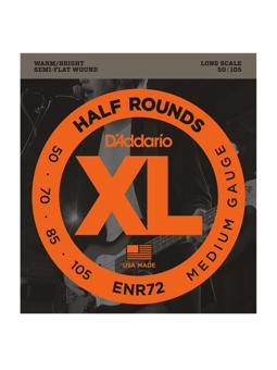 Daddario ENR72 Half Rounds Bass