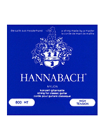 Hannabach Set 800Ht hight tension Silver plated