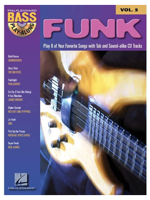Volonte Bass Play-Along FUNK V.5 +CD