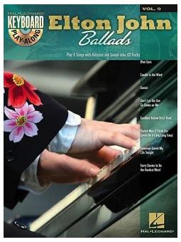 Volonte Play-Along Elton John Ballads + cd