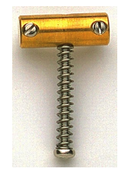 Allparts BP-2328-008 Saddles Brass for Tele