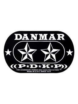 Danmar 210DKST Star Double Power Disk Kick Pad