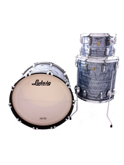 Ludwig Classic Maple Pro Beat 24 in Sky Blue Pearl
