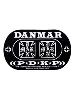 Danmar 210DKIC Iron Cross Double Power Disk Kick Pad