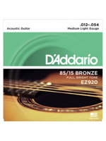 Daddario D'addario EZ920 Medium light