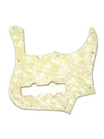 Fender Pickguard Contemporary Jazz Bass Aged WhiteMoto