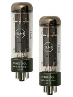 Tungsol EL34B Platinum Matched Pair