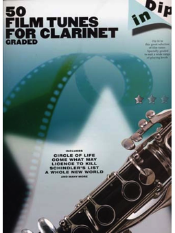 Volonte 50 FILM TUNES FOR CLARINET