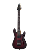 Schecter Demon 7 FR Crimson Red Burst