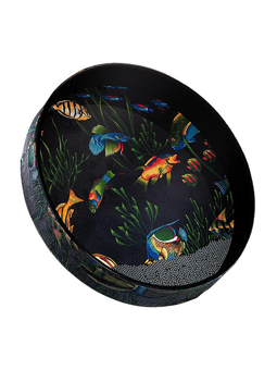 Remo ET-0216-10 Ocean Drum Fish Graphic