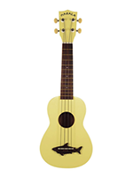 Makala Ukulele Soprano Yellow Coral - Vintage Satin Finish