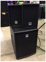 Hk Audio Impianto Lucas Smart con Aste
