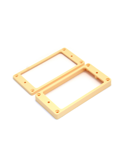 Allparts PC-0743-023 Humbucker Rings for Neck and Bridge Flat cream