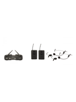 Proel WM600DH Dual Headset Wireless Microphone System