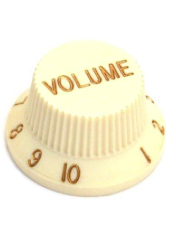 Allparts PK-0154-050 Volume Knobs