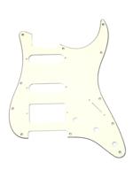 Allparts PG-0995-050 Pickguard for Stratocaster 1H + 2S Parchment