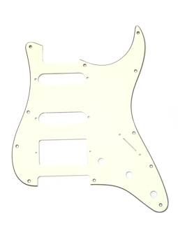 Allparts PG-0995-050 Pickguard for Stratocaster 1H + 2S Parchment