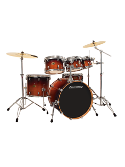 Ludwig LCB622PX Element Lacquer Fusion Deep Brown