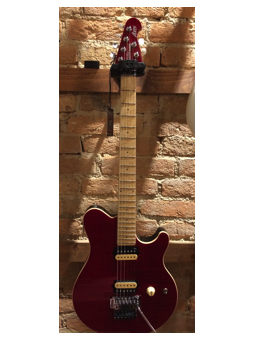 Music Man Axis Translucet Red