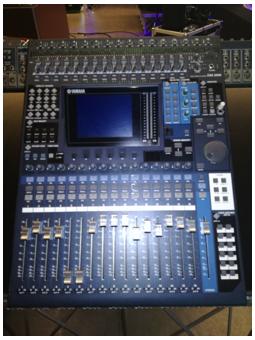 Yamaha DM1000 + Meterbridge + 2 Schede