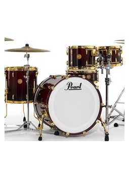 Pearl Limited Edition Mahogany Red Burl Mahogany Fade 5 Shells Pack