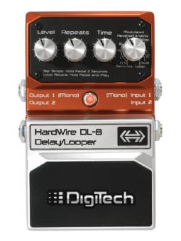 Hardwire Dl8 Delay Looper