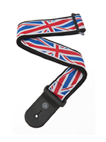 Planet Woven Guitar Strap, Union Jack